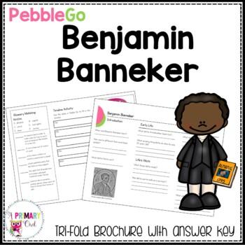 Benjamin Banneker PebbleGo research brochure