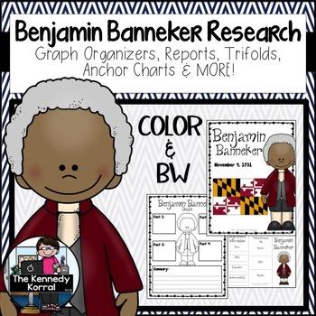 Benjamin Banneker Biography Research Bundle {Report, Trifo