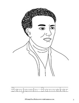 benjamin banneker coloring pages - photo#4