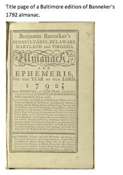 Benjamin Banneker Word Search