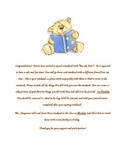 Benjamin Bear Letter to Parents