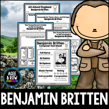 Benjamin Britten, Classical Music Listening, England, November, Piano, Strings