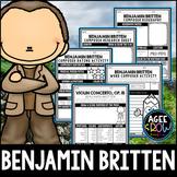 Benjamin Britten, November 22nd Birthday, Autumn, Thanksgi