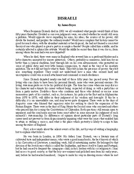 Benjamin Disraeli - Biography of a British Statesman