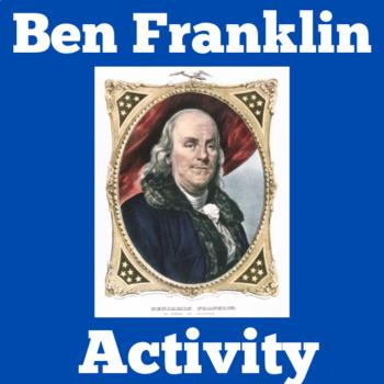 Benjamin Franklin Reading Passage Activity | Ben Franklin Activity