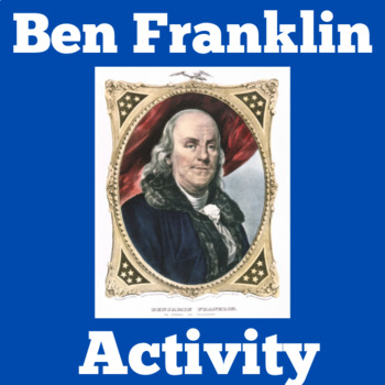 Benjamin Franklin Reading Passage Activity | Ben Franklin