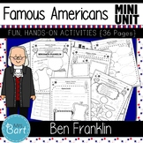 Benjamin Franklin- NO PREP Mini Unit {Famous Americans}