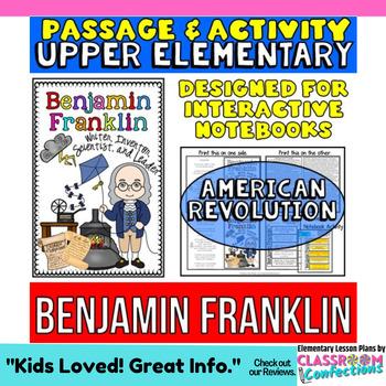 Benjamin Franklin: Biography Reading Passage: American Revolution