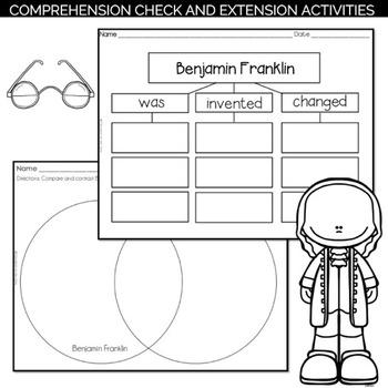 Benjamin Franklin Reading Passage and Activities