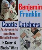 Famous Americans Activity: Ben Franklin (Cootie Catcher Foldable Review Game)