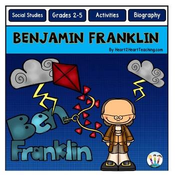 Benjamin Franklin - Ben Franklin {Passages, Activities, and Flip Book}