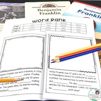 Benjamin Franklin Activities and Assessment