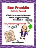 Benjamin Franklin Activity Packet: Low-Prep Literacy Activities Grades 2-4