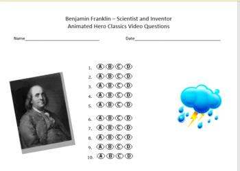 Benjamin Franklin - Animated Hero Classics Video Multiple
