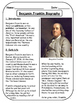 Benjamin Franklin Biographical Article and Activities for ESL (CCSS aligned)