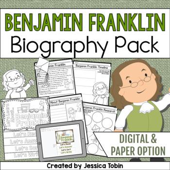 Benjamin Franklin Biography Pack