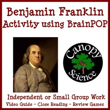 Benjamin Franklin Activity using BrainPOP