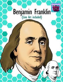 Benjamin Franklin Clipart - Realistic Image