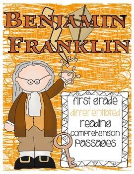 Benjamin Franklin FREEBIE Reading Passage