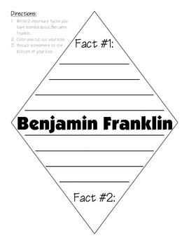Benjamin Franklin Fact Kite