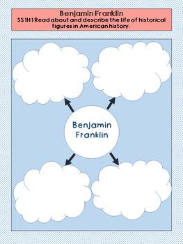 Benjamin Franklin Graphic Organizer Set
