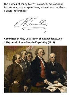 Benjamin Franklin Handout