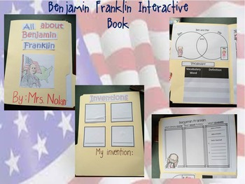 Benjamin Franklin Interactive Book