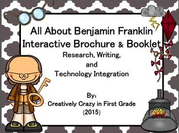 Benjamin Franklin Interactive Brochure (Research, Writing,