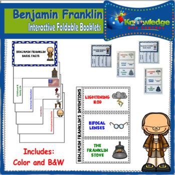 Benjamin Franklin Interactive Foldable Booklets - EBOOK