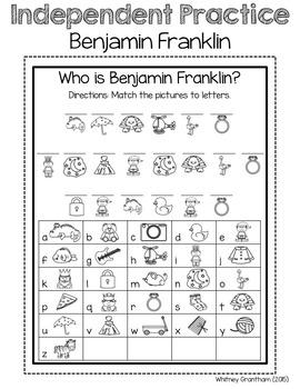 Benjamin Franklin Interactive Notebook (1st Grade)