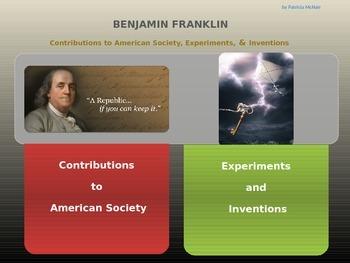 Benjamin Franklin (Inventor & Diplomat for America)