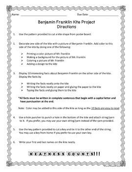 Benjamin Franklin Kite Project
