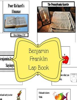 Benjamin Franklin Lap Book