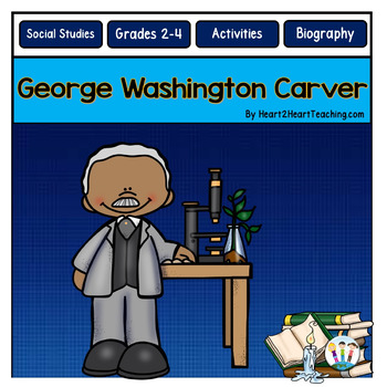 George Washington Carver Unit with Articles, Activities, a