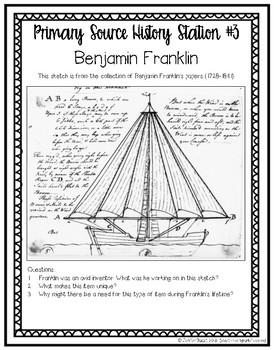 Benjamin Franklin: Primary Source History Stations