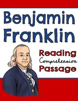 Benjamin Franklin Reading Comprehension Passage and Question Set