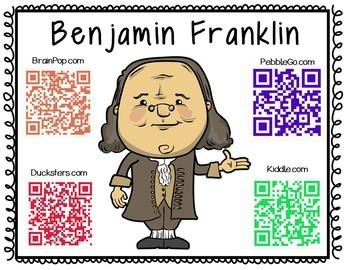 Benjamin Franklin Historical Figure Research Booklet