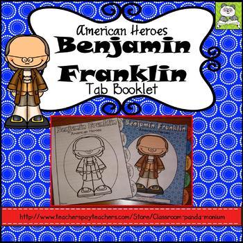 Benjamin Franklin Tab Booklet