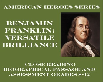 Benjamin Franklin: Versatile Brilliance (Biographical Pass