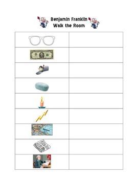 Benjamin Franklin Walk the Room