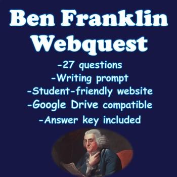Benjamin Franklin Webquest