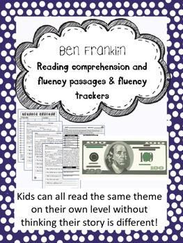 Benjamin Franklin fluency and comprehension leveled passage