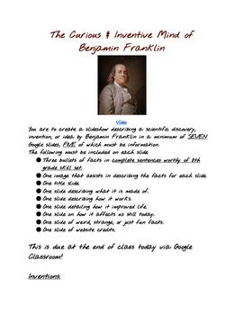Benjamin Franklin's Brilliance
