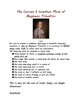 Benjamin Franklin's Brilliance