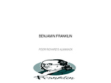 Benjamin Franklin's Poor Richard's Almanack Writing Activi