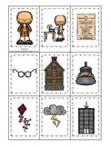Benjamin Franklin themed Memory Matching Cards.  Preschool