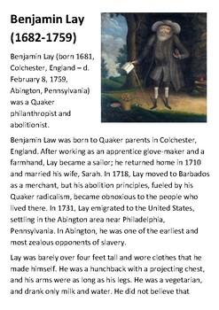 Benjamin Lay Handout