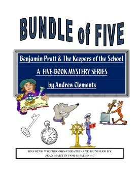 Benjamin Pratt and the Keepers of the School Bundle created by Jean Martin