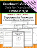Benmark Advance Texts for Close Reading Companion Pages *