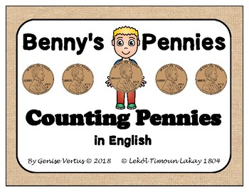 Benny's Pennies: Counting Pennies in English